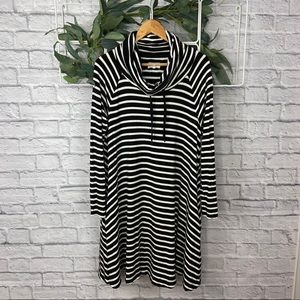 Lou & Grey Black and White Striped Tunic